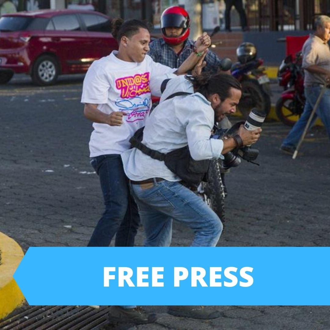Police Brutality in NIcaragua