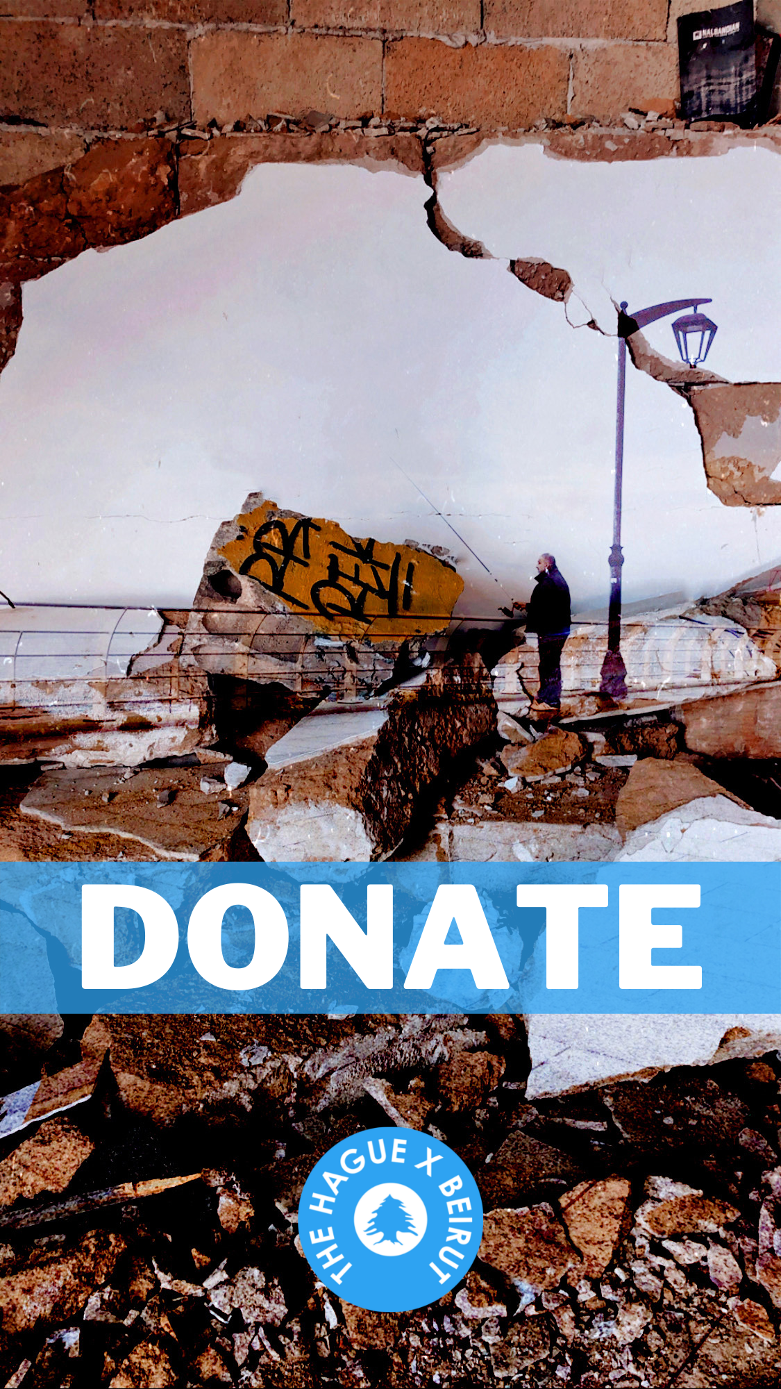 Myriam Saniour Donate The Hague X Beirut