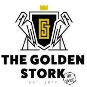 the golden stork logo