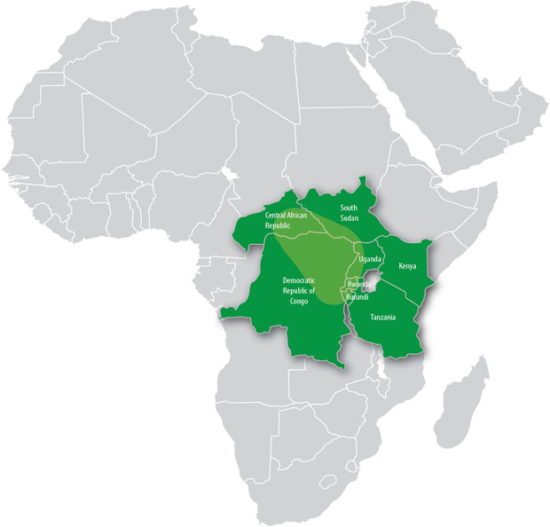 Lakes Of Africa Map.Great Lakes Region The Hague Peace Projects